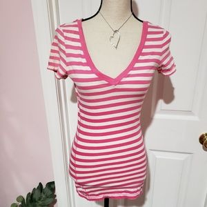 American Eagle Outfitters AEO striped shirt
